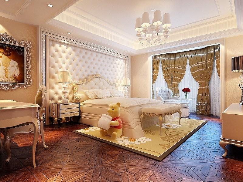 西山一号外观a1户型420平欧式经典别墅装修设计大宅案例别墅配色风格图片