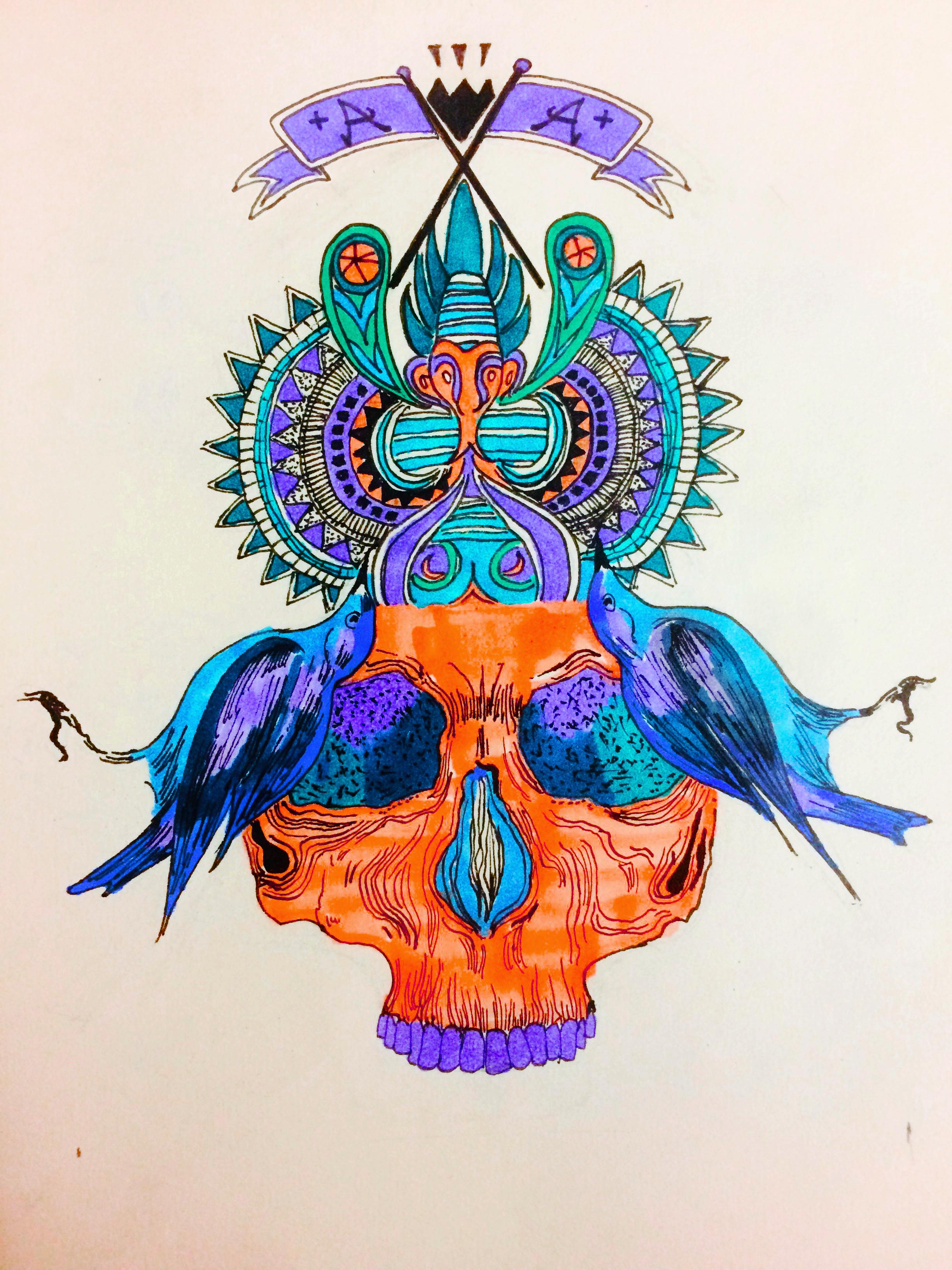 手绘logo图案
