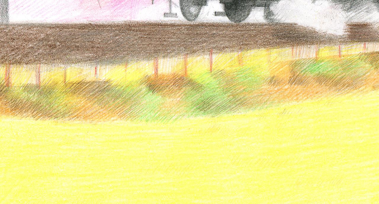 风景简笔画带颜色