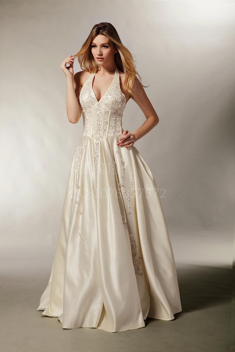 婚纱 礼服 模特