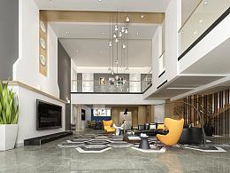 约克郡壹号湖畔设计方案,500平联排别墅装修完工图