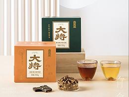 大将茶✖️有食 茶包装摄影
