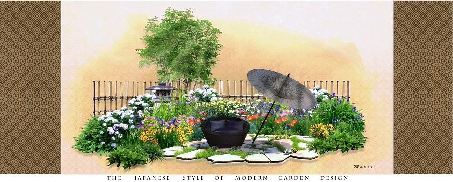 庭院景观设计图