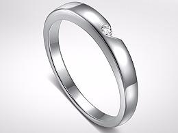 珠宝戒指修图后期