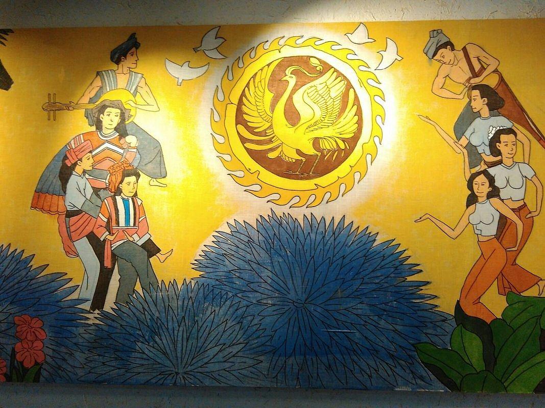 洛阳依米乐绘馆手绘墙案例#饭店装修