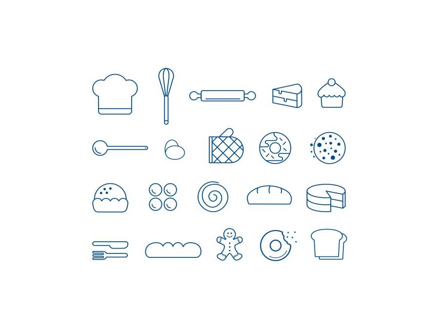 烘焙LOGO|平面|标志|王品v平面9-原创设计作品建筑工程竣工图要求绘制图片