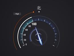 智坐标车机版UI设计
