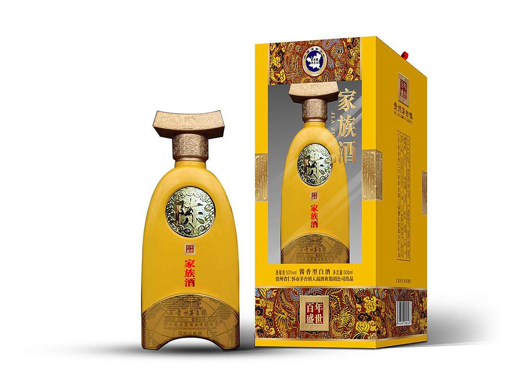 茅台家族酒_白酒包装礼盒设计_艺鼎鹏图片