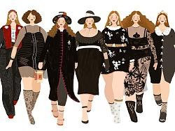 时装秀(Dolce&Gabbana2018秋冬时装秀)黑色系