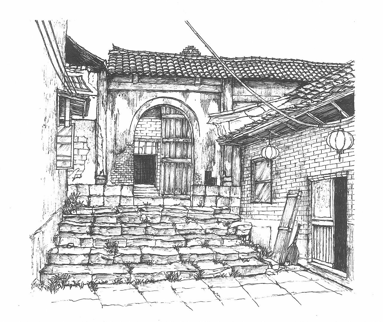 简笔画 手绘 素描 线稿 1280_1075图片