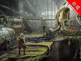 《剑-毒-元》PS场景合成设计