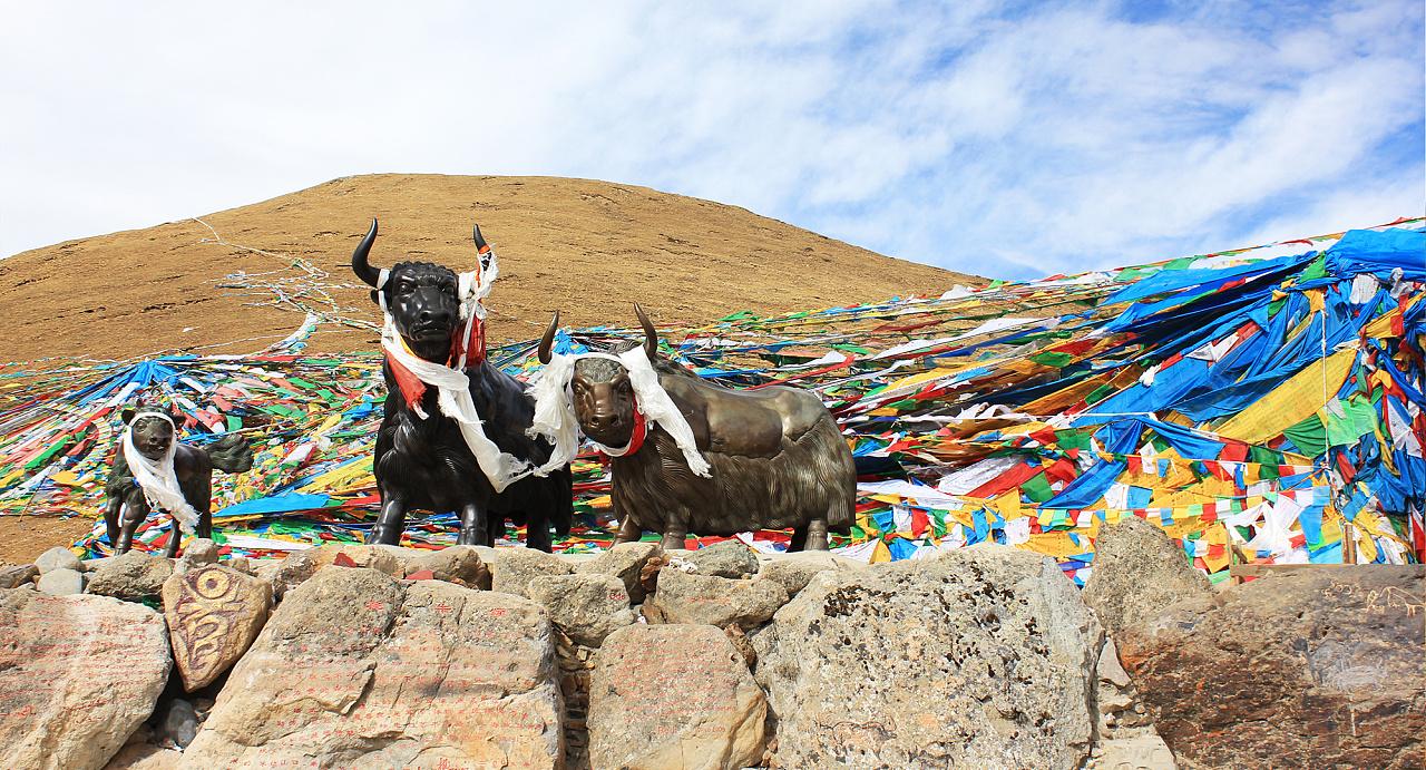 米拉山口,海拔5013米
