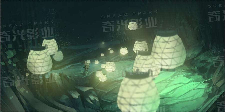 动物寺|DM/宣传单/平面广告|兰若|奇光影业-原画平面概念设计原图片