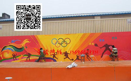墙体艺术彩绘|手绘墙墙体艺术彩绘新农村|文化墙艺术墙