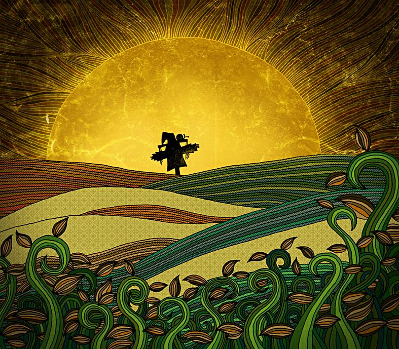 原创作品:稻草人与蜗牛
