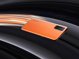 iQOO3 5G系列美图 拉力橙配色
