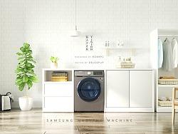 三星洗衣机广告三维部分