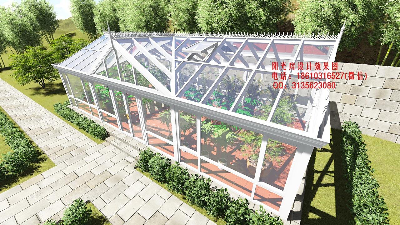 植物园阳光房设计效果图