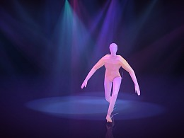 3D-Design Daily Render-Track Dance Object