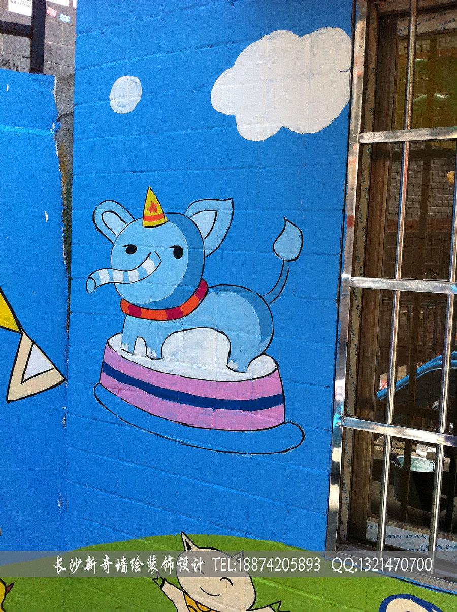 长沙新奇墙绘 ,长沙墙绘,长沙壁画,长沙手绘墙,长沙幼儿园墙绘,壁画