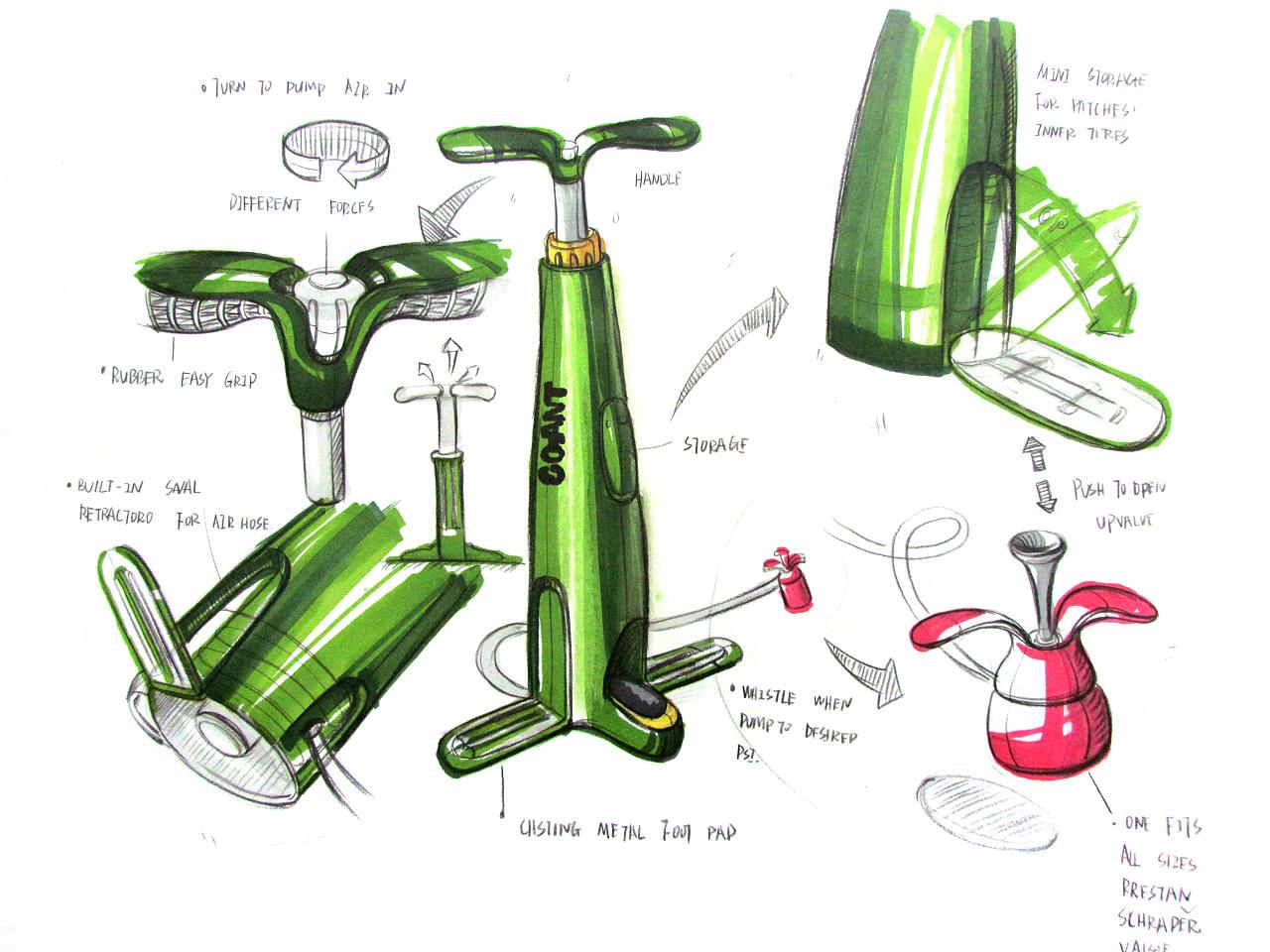 马克笔手绘:工业产品手绘练习 ——马克笔临摹