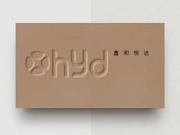 鑫   VI品牌视觉设计    鑫和悦达铝家具
