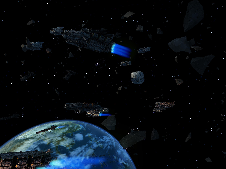 外太空-cg夜空