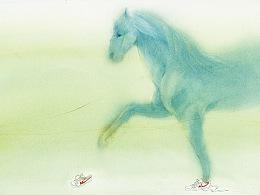 《蓝马与苍鹰》