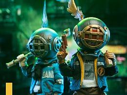 藏克-首款可动玩偶 穿梭在城市间的少年