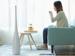 小熊落地式加湿器广告【三目摄影作品】