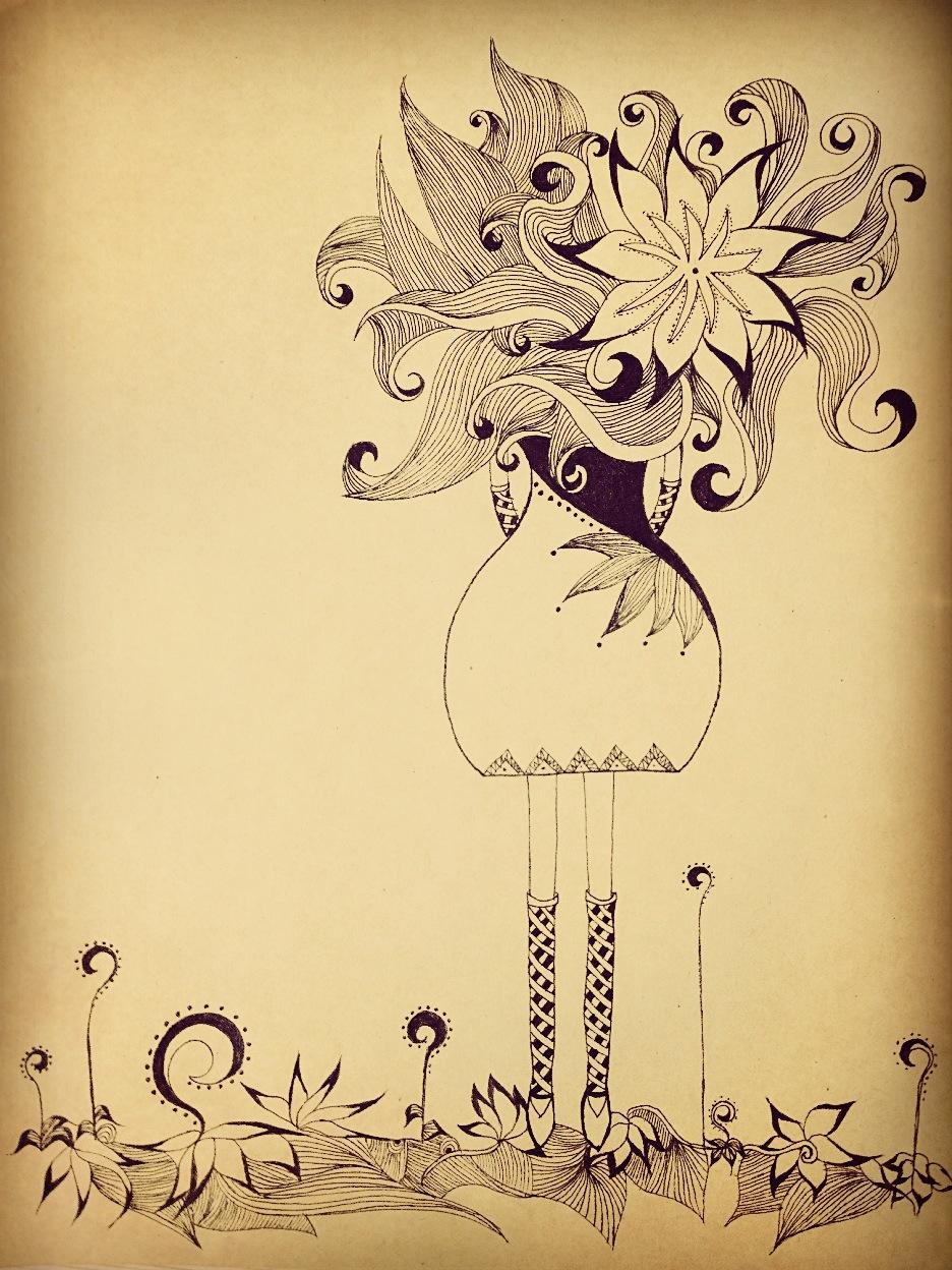手绘日记本