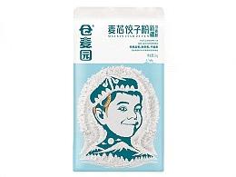 高鹏设计——特产面粉农产品包装设计升级