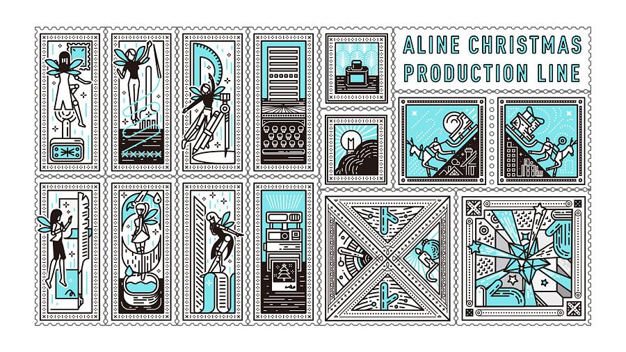 查看《海报练习-|ALINE圣诞星工厂|圣诞快乐》原图,原图尺寸:1245x700