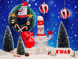 TINTOWN圣诞机器人