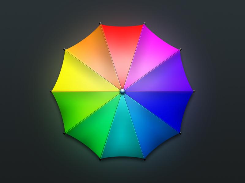 手工-小雨伞图片