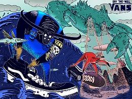 #VANS艺术家#  艺术TEE图案征集