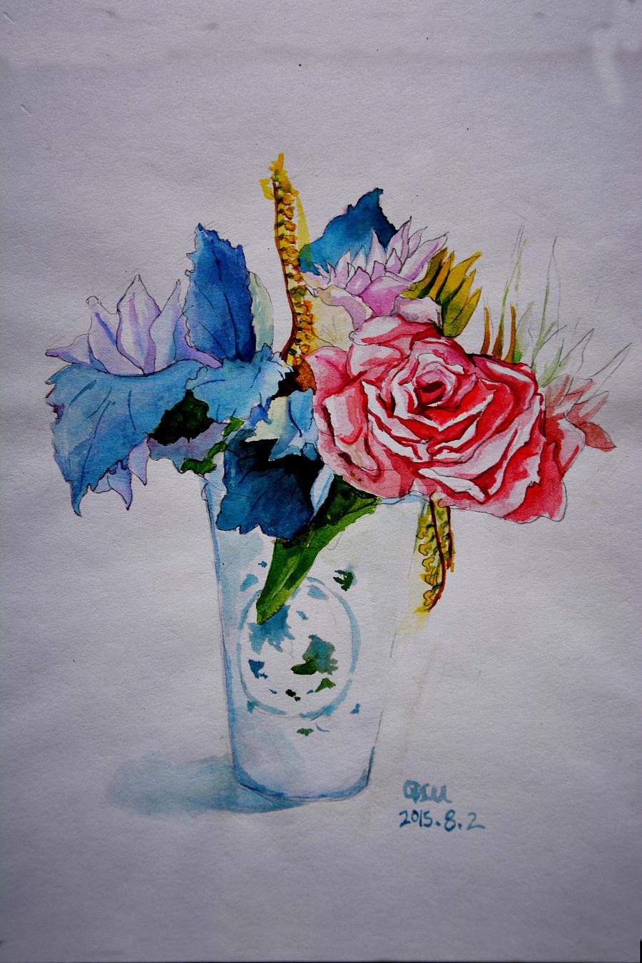 原创作品:彩色手绘