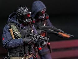 英国特别空勤团反恐大队SAS CRW 突击手/破门手