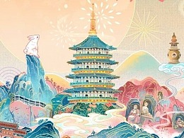 【杭州风韵】中国国际动漫节国风馆海报