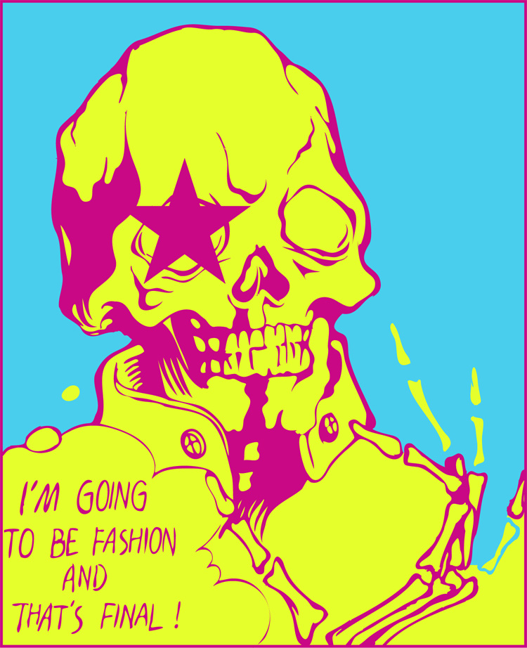 查看《I'MGOINGTOBEFASHION&THAT'SFINAL.》原图,原图尺寸:750x922