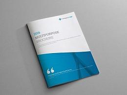 16页多功能企业宣传画册模板