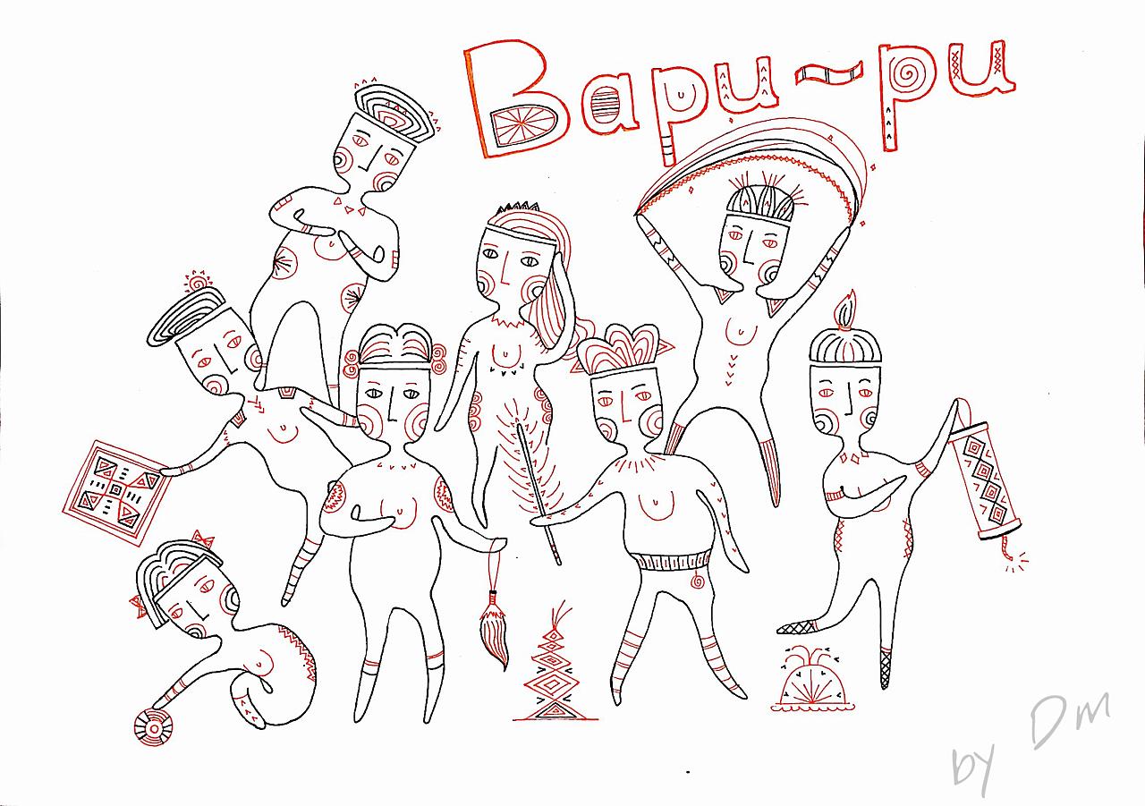 原创~bapupu小人