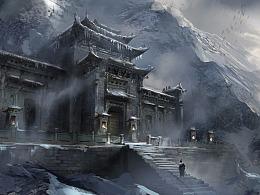 雪山派修炼场入口