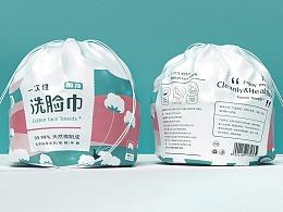 素良生活一次性卫生防护用品包装设计