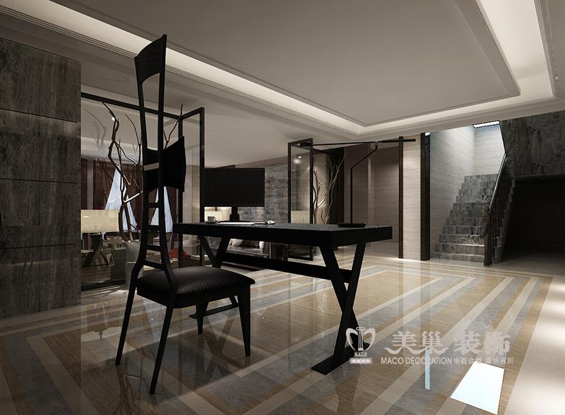 林溪湾别墅450平装修效果图设计,省钱后现代台最采用的别墅装修图片