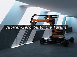 Jupiter-Zero机械臂 机器人 工程建筑 工业 c4d octane