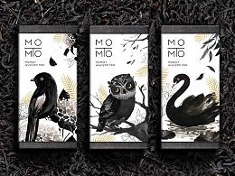 momot新派茶包装