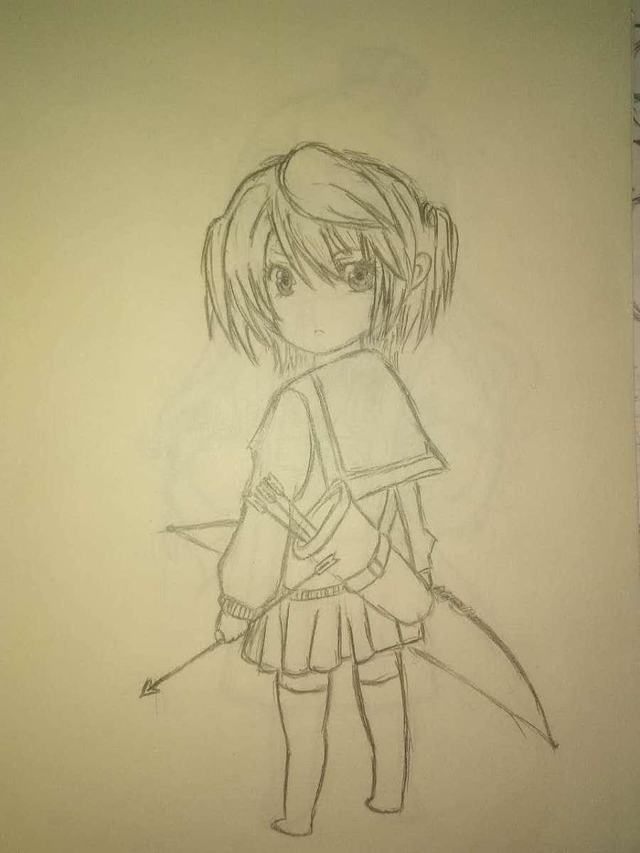 原创作品:手绘游戏角色
