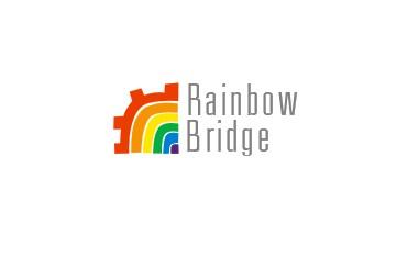 彩虹logo设计