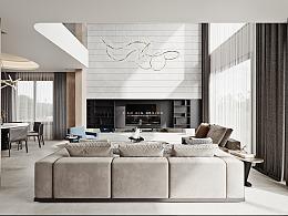 别墅-现代风格!